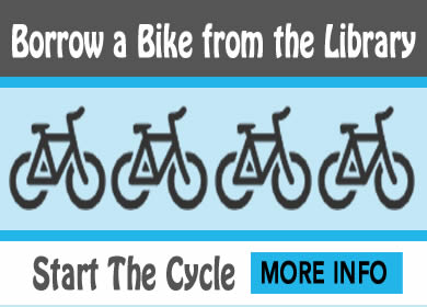 borrow a bike from the library