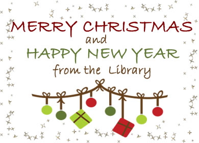 merry christmas from the library