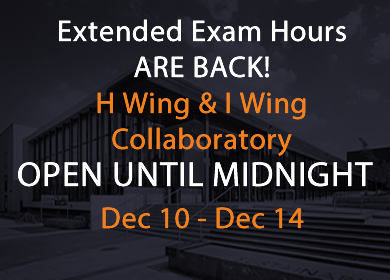 extended exam hours in the collaboratory