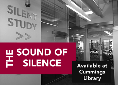 use the silent study room