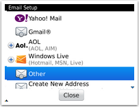 Add a Mohawk Email Account to a Blackberry Device   Mohawk College