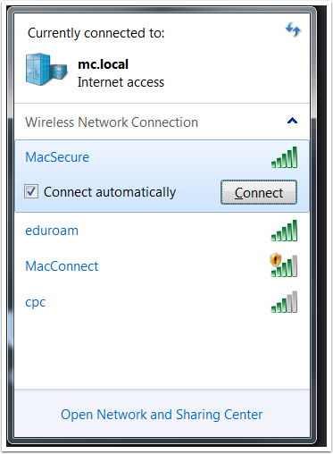 how to find password to connected wifi mac