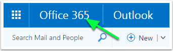 office365 bar