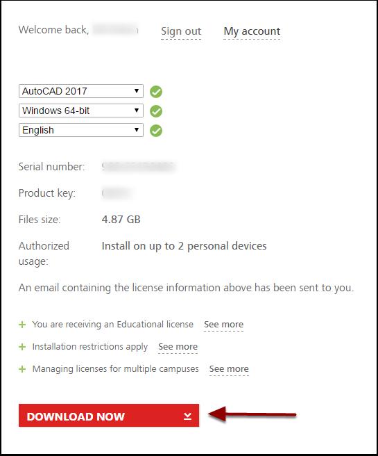 autodesk autocad 2017 full download