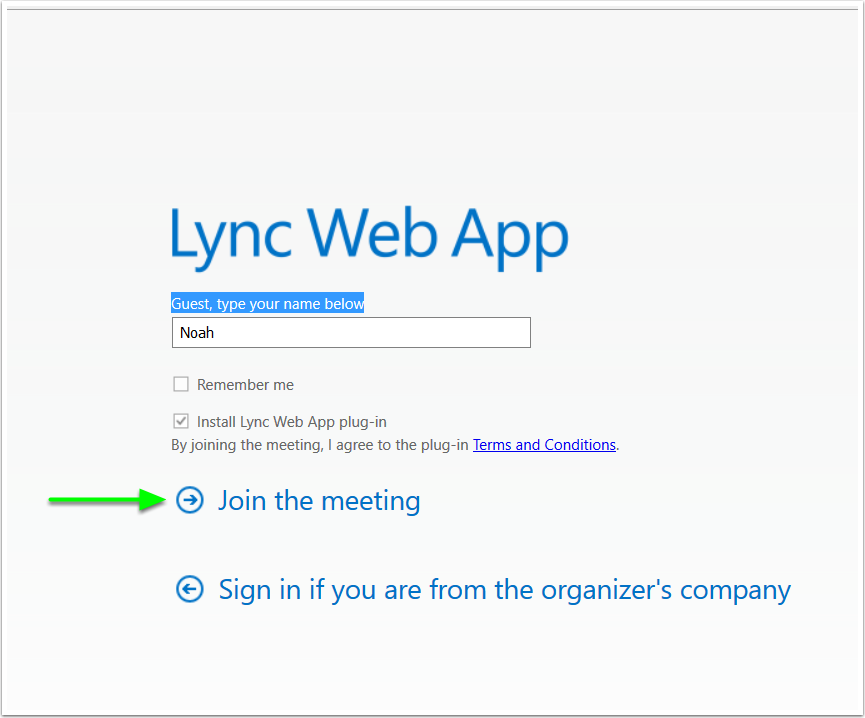 Join a Skype (Lync) Meeting | Mohawk College