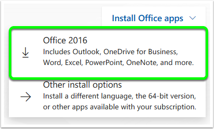 Download Microsoft Office 2016 from Office 365 | Mohawk College