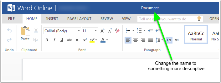 how to get adjusting page word