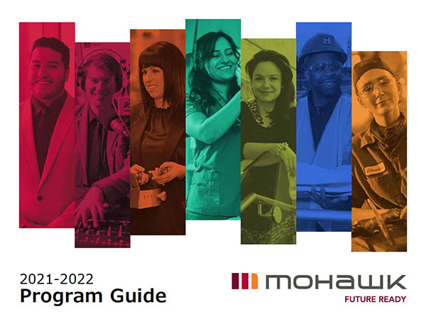 2021-2022 Mohawk College Program Guide