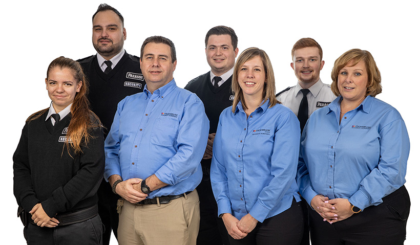 Portrait of Security Services staff