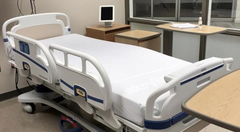 Stryker beds at Mohawk College Institute for Applied Health Sciences