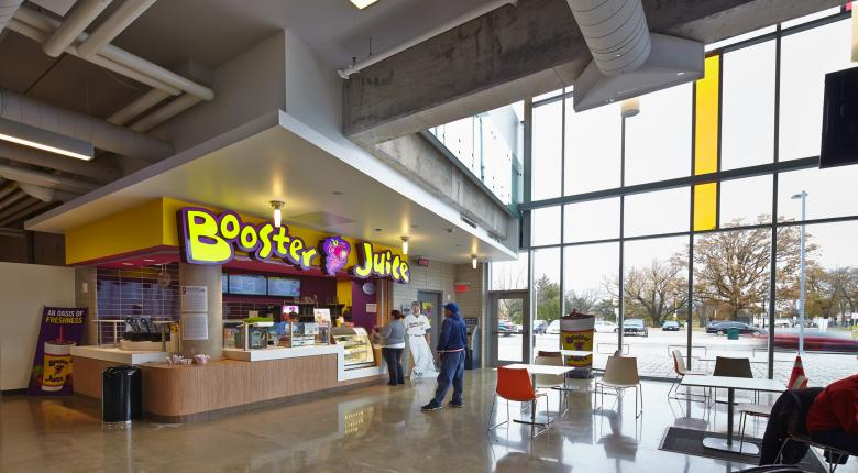 david braley athletics & recreation centre booster juice