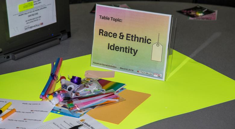 Mohawk College Race and Ethinic Identity Table Outlook