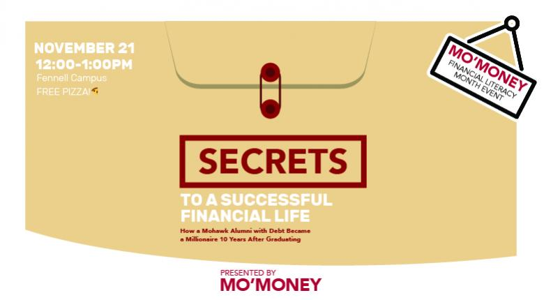 Secrets to a Successful Financial Life | Mohawk College
