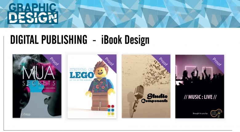 ibook publishing designs