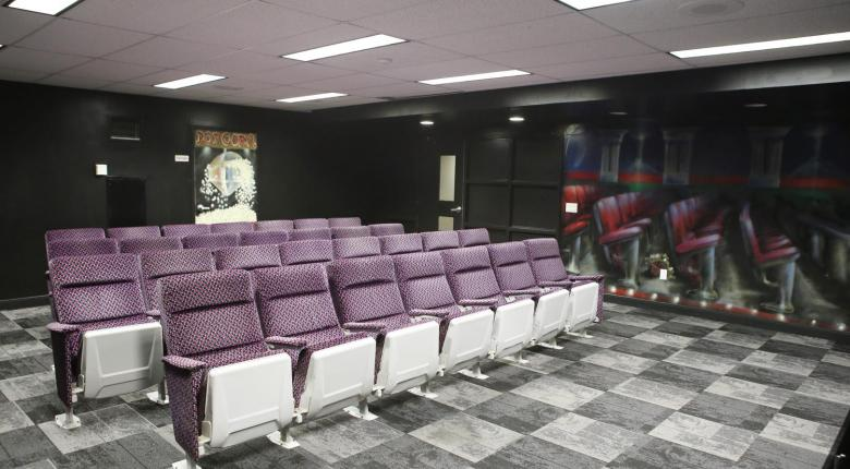 Movie Lounge with theatre seating