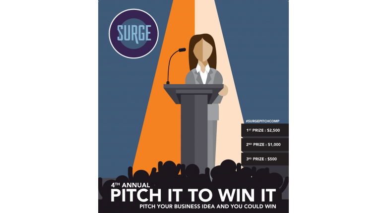 SURGE Pitch It to Win It competition | first Place prize $2,500