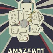 A-Maze-Bot poster by Laura Vanandel