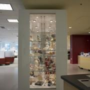 IAHS library display case