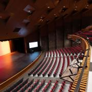 McIntyre Performing Art Center top view seating