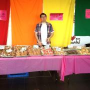 Cupcakes and baked goods for Day of Pink 2017