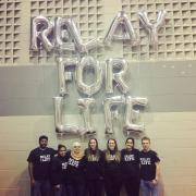 IAHS students at Relay for Life.