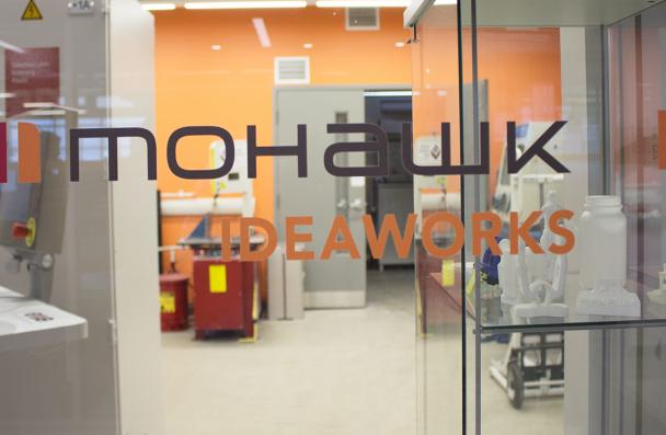 Mohawk's Additive Manufacturing Innovation Centre, located in E wing