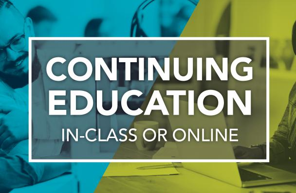 Mohawk College Continuing Education In-class or online
