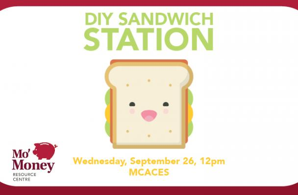 Mo'Money Sandwich Station: Free lunch!