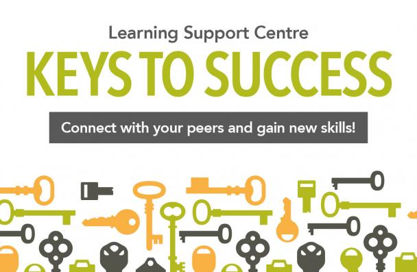 Keys to Success. Connect with your peers and gain new skills