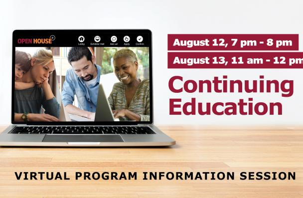 Virtual Program Information Session: Continuing Education
