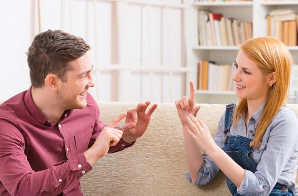 American Sign Language...
