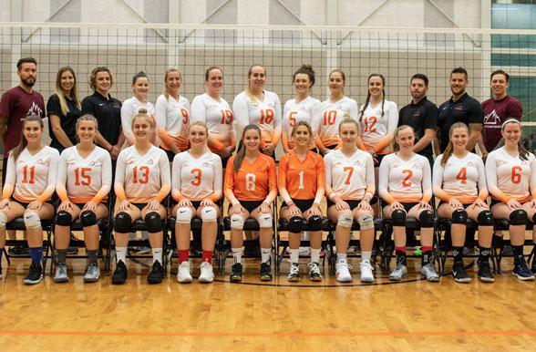 Women's Varsity Volleyball 2018-2019   Mohawk College